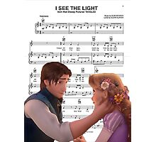 I See The Light - Tangled Photographic Print