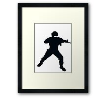 Tom Clancy Spec Ops Framed Print
