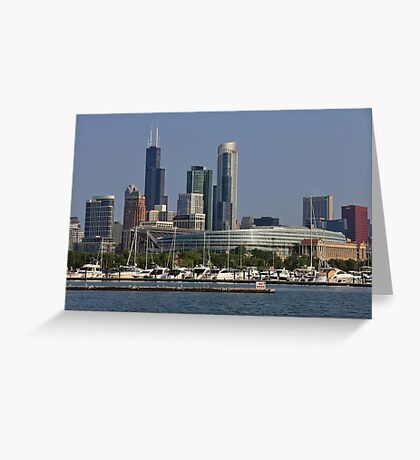 Chicago Soldier Field Greeting Card