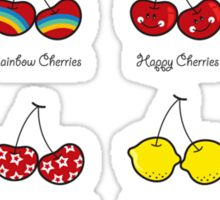 I Love My Cheeky Cherries! Sticker