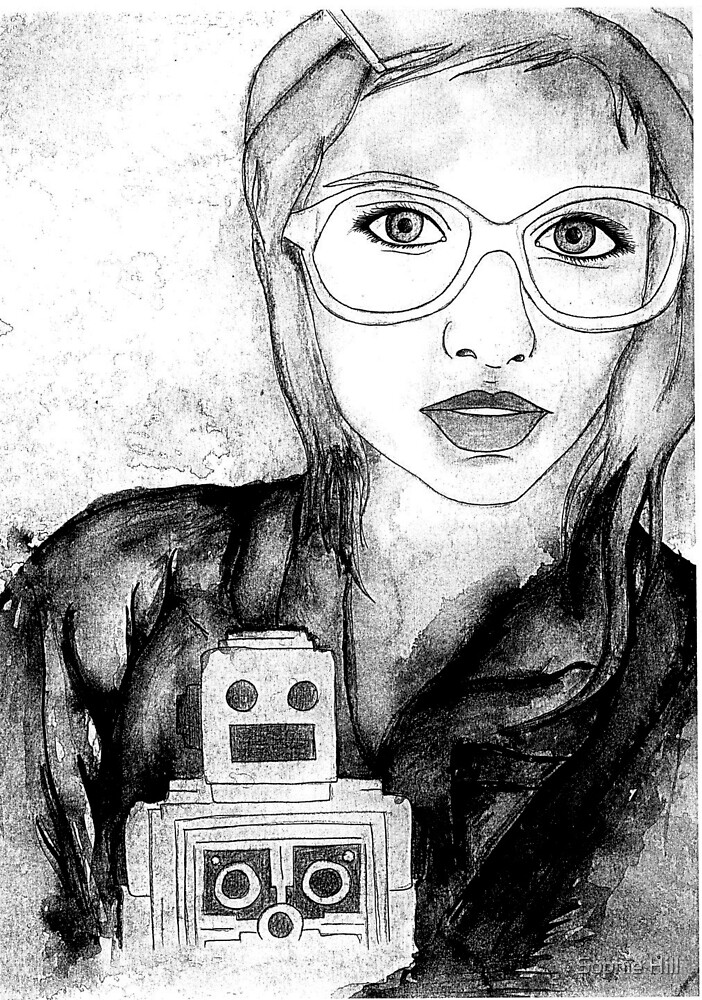 Sensible Robotic Life  by Sophie Hill