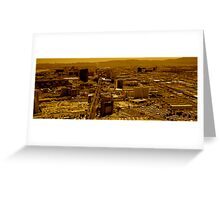 Vegas Heat Greeting Card