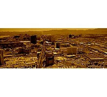 Vegas Heat Photographic Print
