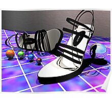 Shoes and Spheres Poster