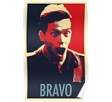 """Bravo!"" Poster"