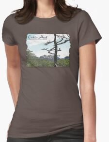 Cochise Head  Womens Fitted T-Shirt