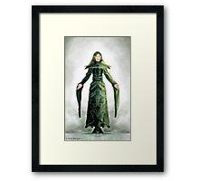 Fantasy Elf Framed Print