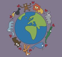 We Love Our Planet! Kids Clothes