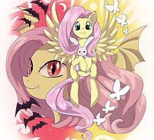 My little pony - Flutterbat by keterok