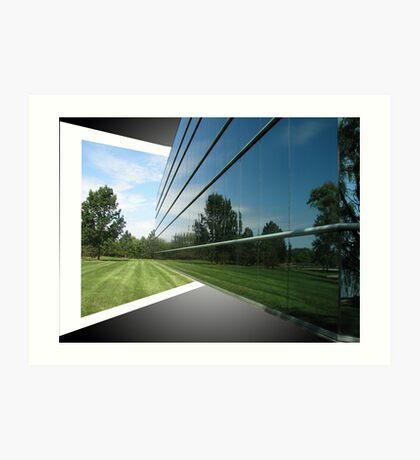 Reflection OOB Art Print