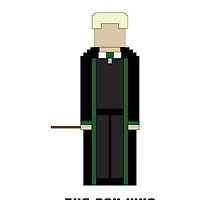 Draco Malfoy 'The Boy Who Had No Choice' 8-bit by cmonskinnylove