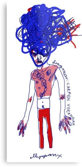 'Carmen Verandah' by ellejayerose