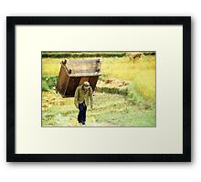 ' Weight of the World ' Framed Print
