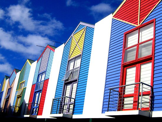 Rainbow Chalets by paulhosk