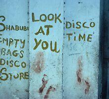 Graffiti in Mombasa by bertspix