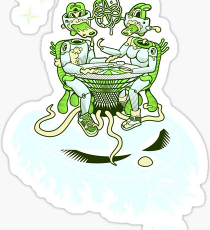 Naked Brunch | UFOART series Sticker
