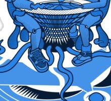 Naked Brunch   UFOART series   mono Sticker