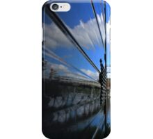 Reflections on the caravan (not edited) iPhone Case/Skin