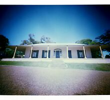 "Pinhole Polaroid - ""Experimental Farm II"" by David Amos"