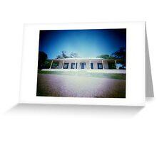 """Pinhole Polaroid - """"Experimental Farm II"""" Greeting Card"""