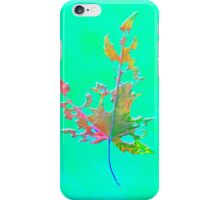 Somebody had Leaf for Lunch – Green One iPhone Case/Skin