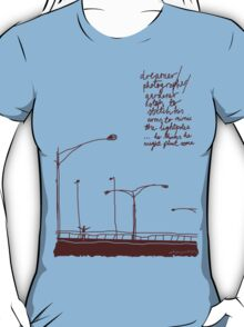 'Planting Light Poles' T-Shirt