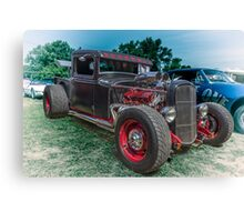 Winged Truck Canvas Print