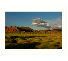 Evening light - Osmond Ranges, W A Art Print