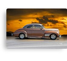 1941 Chevrolet 'Special Deluxe' Coupe III Canvas Print