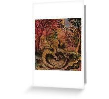Alchemical Fire - Ouroborus Greeting Card
