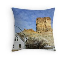 The House on the Corner Throw Pillow