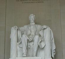 Lincoln Memorial by OnTheRoadAgain