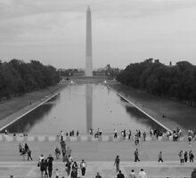 Washington Monument by OnTheRoadAgain