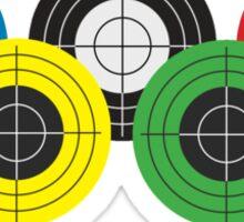 Five targets Sticker