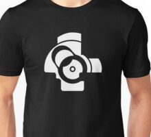 AK Bolt Face - Plain Unisex T-Shirt