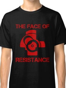 The (bolt) Face of Resistance Classic T-Shirt