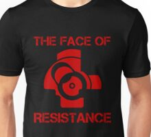 The (bolt) Face of Resistance Unisex T-Shirt