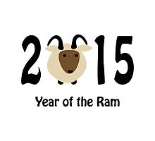 Year of the Ram 2015 by Eggtooth