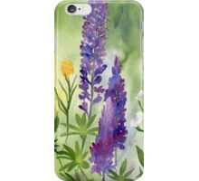 Lupines iPhone Case/Skin