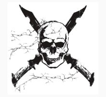 Skull & Swords design Kids Clothes