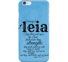 Leia iPhone Case/Skin
