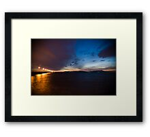 Never Have to Worry About What Is Worse or What is Best Framed Print