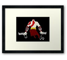 Kratos Framed Print