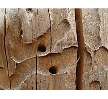 chiseled by nature Photographic Print