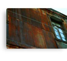 Rusty House Canvas Print