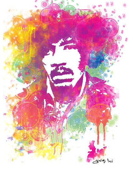 Jimi  by geniusloci