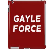 Chris Gayle - Gayle Force iPad Case/Skin