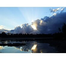 Mornings Reflections........ Photographic Print