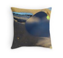 Ice landscape 1 Throw Pillow