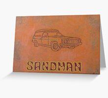 Sandman Greeting Card